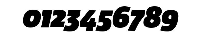 Agile FatItalic Font OTHER CHARS