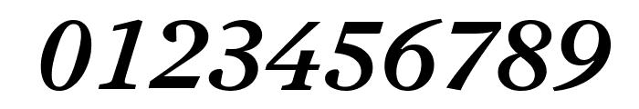Antwerp MediumItalic Font OTHER CHARS