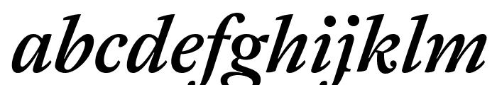 Antwerp MediumItalic Font LOWERCASE