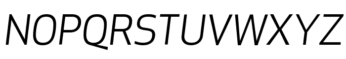 ApexNew BookItalic Font UPPERCASE