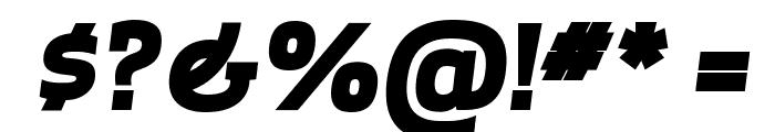 ApexSerif ExtraboldItalic Font OTHER CHARS