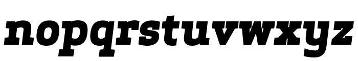 ApexSerif ExtraboldItalic Font LOWERCASE