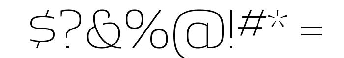 ApexSerif Light Font OTHER CHARS