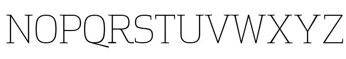 ApexSerif Light Font UPPERCASE