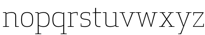 ApexSerif Light Font LOWERCASE