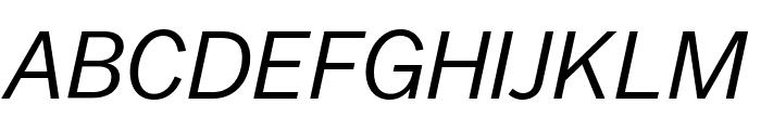 Balto BookItalic Font UPPERCASE