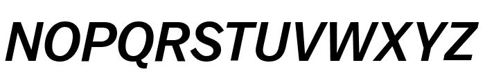 Balto MediumItalic Font UPPERCASE