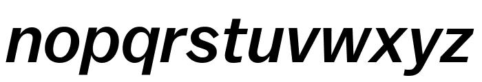 Balto MediumItalic Font LOWERCASE