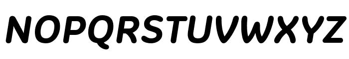 Colette BoldItalic Font UPPERCASE