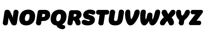 Colette JumboItalic Font UPPERCASE