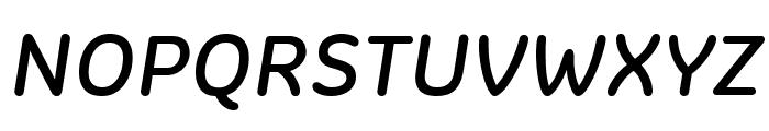 Colette RegularItalic Font UPPERCASE