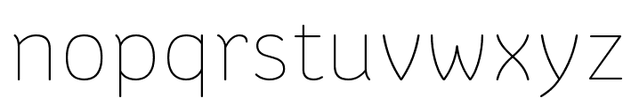 Colette Thin Font LOWERCASE