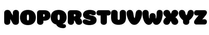 Colette UltraJumbo Font UPPERCASE