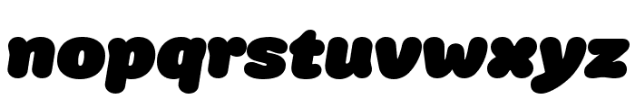 Colette UltraJumboItalic Font LOWERCASE