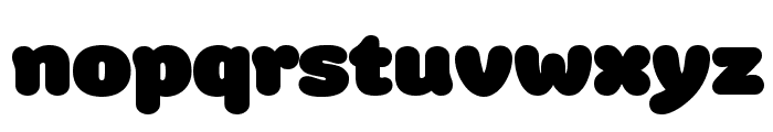 Colette UltraJumbo Font LOWERCASE