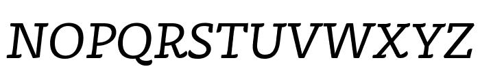 Doko BookItalic Font UPPERCASE