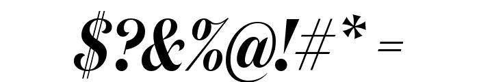 DomaineDisplayCondensed SemiboldItalic Font OTHER CHARS