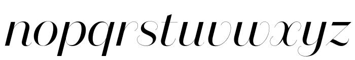 DomaineSansFine Italic Font LOWERCASE