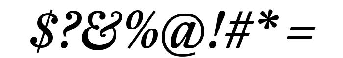 EudaldNews MediumItalic Font OTHER CHARS
