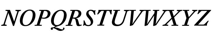 EudaldNews MediumItalic Font UPPERCASE