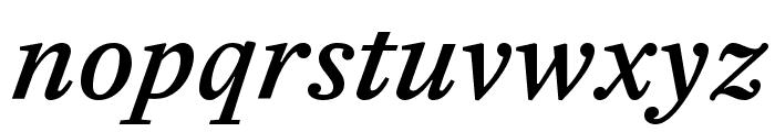 EudaldNews MediumItalic Font LOWERCASE