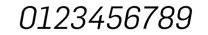 Flama BookItalic Font OTHER CHARS