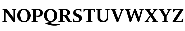 Gravitas Bold Font UPPERCASE