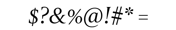 Gravitas Italic Font OTHER CHARS