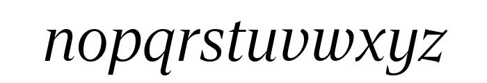 Gravitas Italic Font LOWERCASE