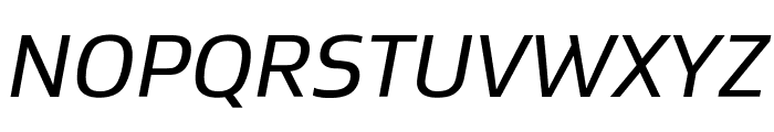 Gustan BookItalic Font UPPERCASE