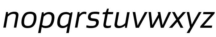 Gustan BookItalic Font LOWERCASE