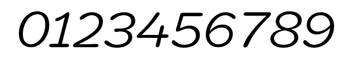 Marigny BookItalic Font OTHER CHARS