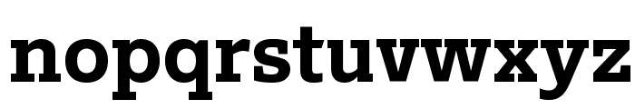 Outsiders Black Font LOWERCASE