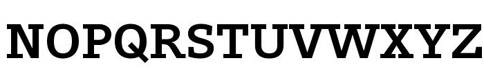 Outsiders Extrabold Font UPPERCASE