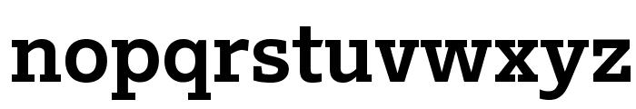 Outsiders Extrabold Font LOWERCASE