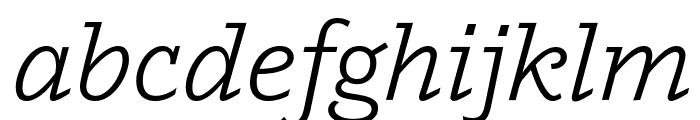 Outsiders Italic Font LOWERCASE