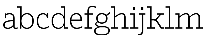 Outsiders Light Font LOWERCASE