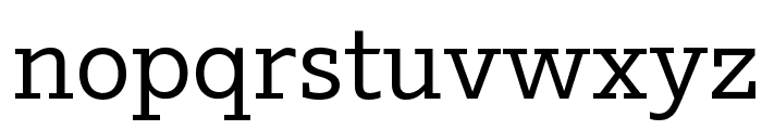 Outsiders Medium Font LOWERCASE