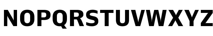 Queue Bold Font UPPERCASE