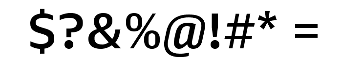 Queue Medium Font OTHER CHARS