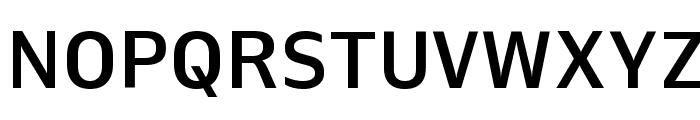 Queue Medium Font UPPERCASE