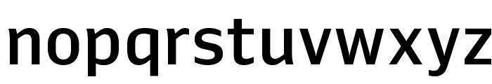 Queue Medium Font LOWERCASE