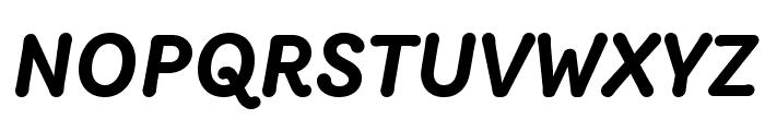 Router BoldItalic Font UPPERCASE