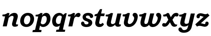 Shift BoldItalic Font LOWERCASE