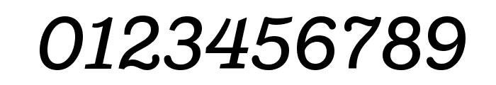 Shift MediumItalic Font OTHER CHARS