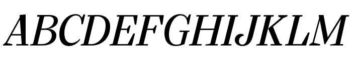 SilvaDisplay BookItalic Font UPPERCASE