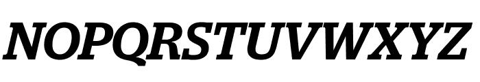 Stag MediumItalic Font UPPERCASE