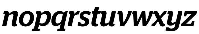 Stag MediumItalic Font LOWERCASE