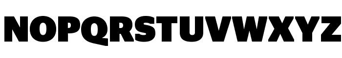 StagSans Black Font UPPERCASE