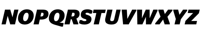 StagSans BoldItalic Font UPPERCASE